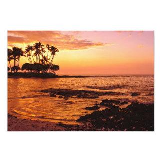 Big Island, Hawaii. Sunset, Big Island Hawaii. 2 Photo