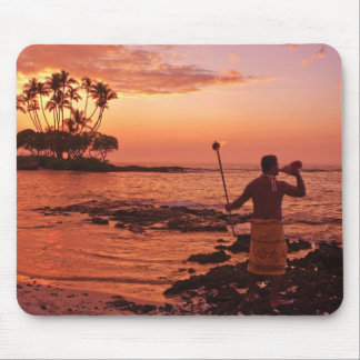 Big Island, Hawaii. Sunset, Big Island Hawaii. Mouse Mat