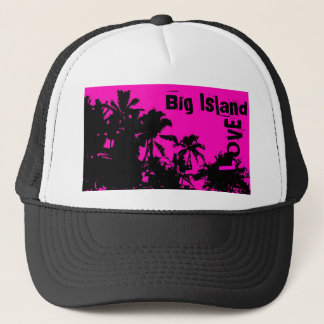 Big Island Love palm hat