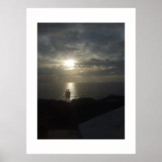 Big Island Silhouette Print