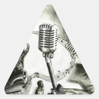 Big Jazz Triangle Stickers