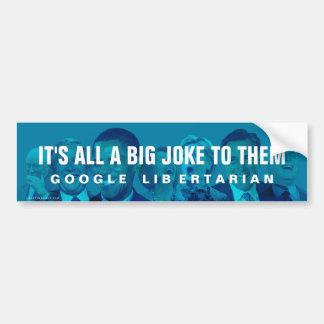 Big Joke Bumper Sticker
