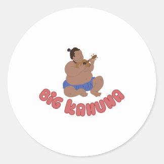 Big Kahuna Round Sticker