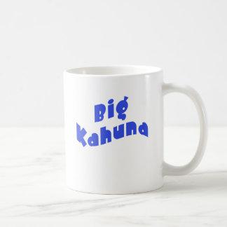 Big Kahuna with Matching Little Kahuna Products Basic White Mug