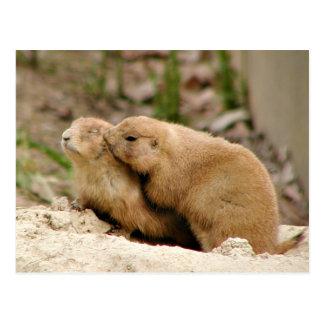 Big kiss postcard