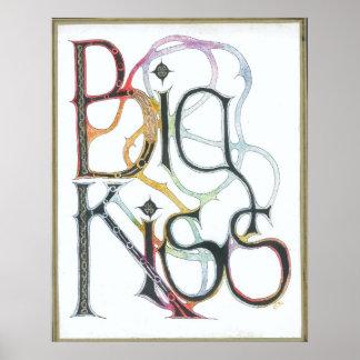 Big Kiss Poster