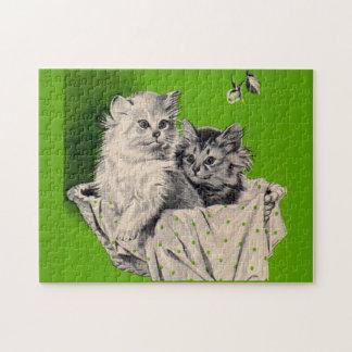 big kitten little kitten jigsaw puzzle