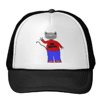big kitty trucker hats