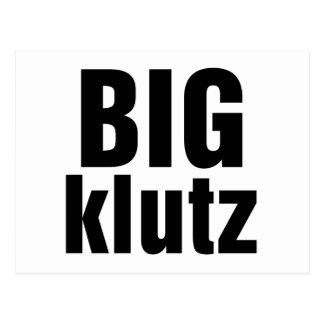 Big Klutz Postcard