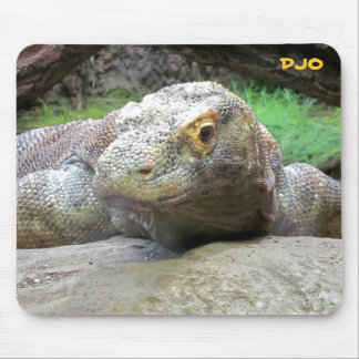 Big Komodo Dragon Mouse Mat