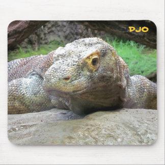 Big Komodo Dragon Mouse Pad