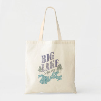 Big Lake Alaska Tote Bag