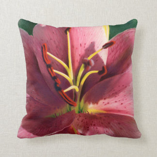 Big Lily Drawing Pillow