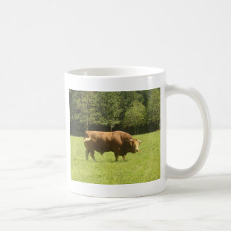 Big Limousin Bull Coffee Mug