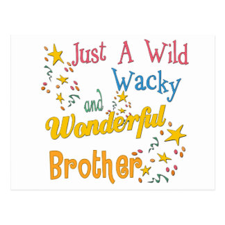 Big, Little, Middle Brother Gifts Post Card