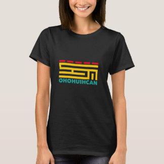 Big Logo OHOHUIHCAN Women Black T-Shirt