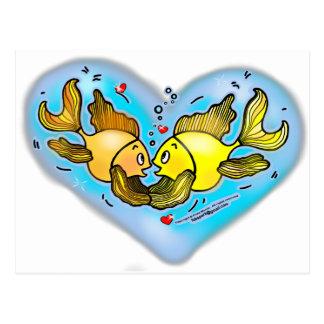 Big Love Fish Postcard