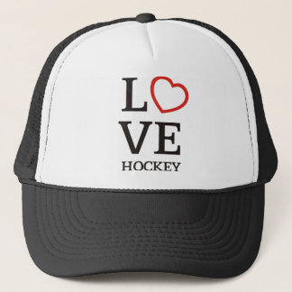 Big LOVE Hockey Trucker Hat