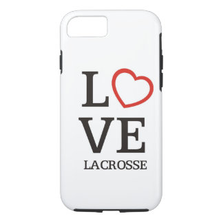 Big LOVE Lacrosse iPhone 8/7 Case