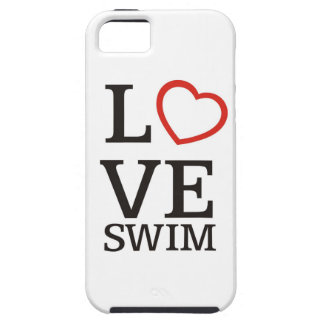 Big LOVE Swim iPhone 5 Covers
