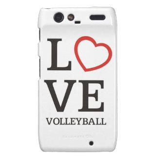 Big LOVE Volleyball Droid RAZR Case