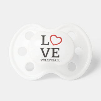 Big LOVE Volleyball Pacifiers