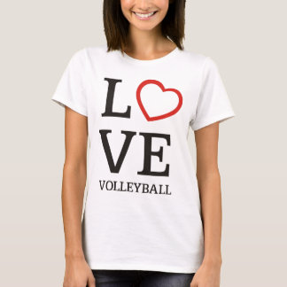 Big LOVE Volleyball T-Shirt