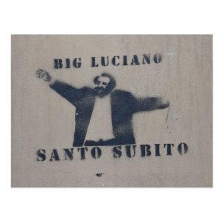 Big Luciano Postcard