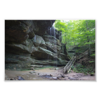 Big Lyons Falls, Mohican State Park, Ohio Photo Print
