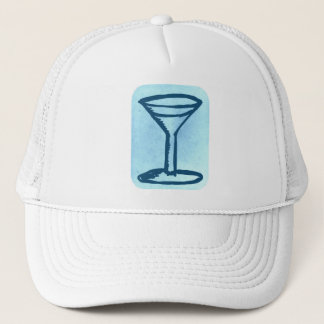 BIG MARTINI PRINT HAT