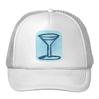 BIG MARTINI PRINT HAT
