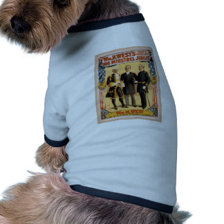 Big minstrel Jubilee Pet Tee Shirt