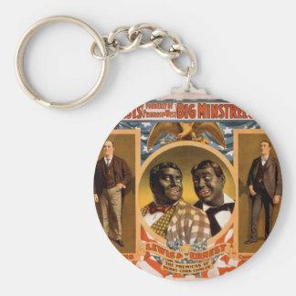 Big minstrel Jubilee, 'Lewi's and Ernest' Retro Th Keychain