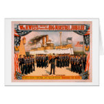 Big Minstrel Jubilee Remember the Maine Poster Card