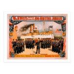 Big Minstrel Jubilee Remember the Maine Poster Postcard