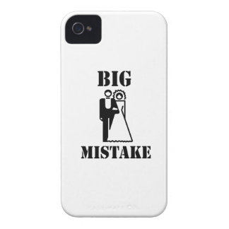 Big Mistake iPhone 4 Cover