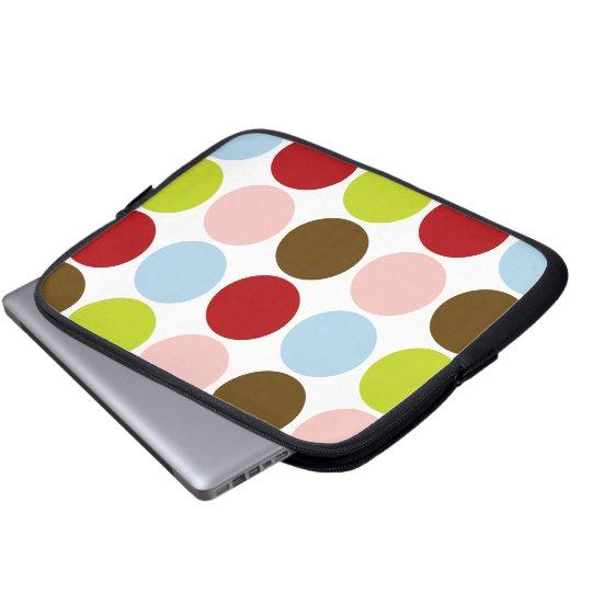 Big Mod Dots Designer Laptop/Electronics Bag