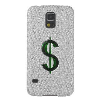 Big Money White Snake Skin Cases For Galaxy S5