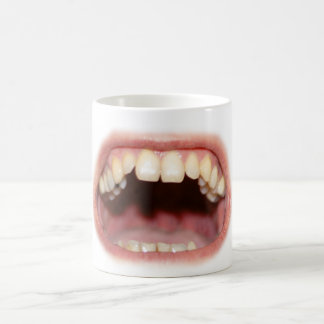 Big Mouth And Teeth Mug Cup