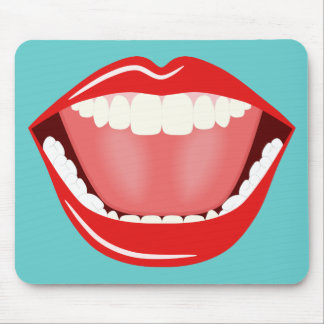 Big Mouth Cool Mouse Pads Funny Cute Mousepads