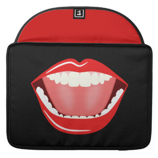 Big Mouth Cute Funny 15 Inch Macbook Pro Sleeves Sleeves For MacBook Pro