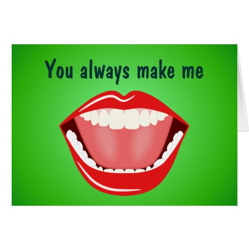 Big Mouth Friendship Thank You Cards Card