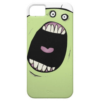 Big Mouth Green Monster iPhone 5  Cover