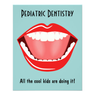 Big Mouth Small Dentist Dentistry Dental Flyers Flyer Design