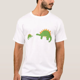 Big 'n' Little Stegosaurus apparel T-Shirt