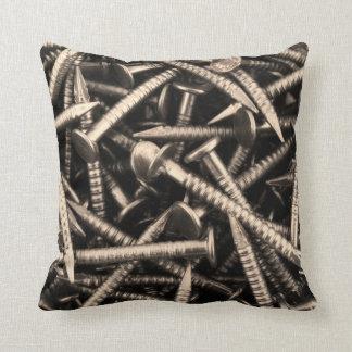 Big nails pillow cushion