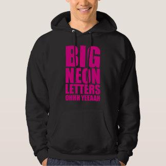 Big Neon Letters Hoodie
