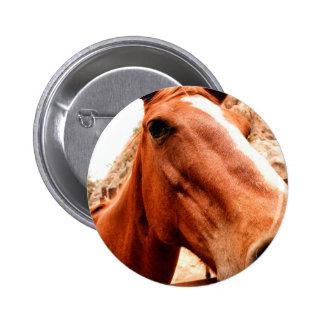 Big Nose 6 Cm Round Badge