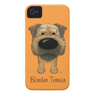 Big Nose Border Terrier iPhone 4 Cases