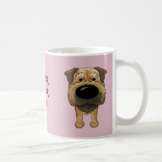 Big Nose Border Terrier Coffee Mug